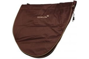 Dublin Imperial Saddle Bag Chocolate/Cream