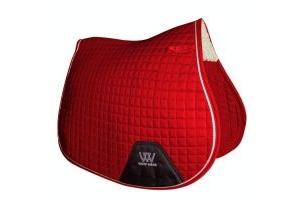 Woof Wear Contour GP Saddle Pad Royal Red
