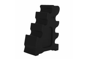 Classic Showjumps Sloping Jump Block Black