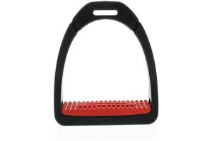 Shires Compositi Premium Profile Stirrups Red Adult