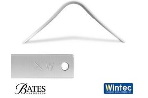 Bates/Wintec EASY-CHANGE Saddle Gullet System Gullets / Extra Wide (white) size
