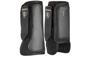 Equilibrium Tri-Zone Impact Sports Boots, Black, OneSize