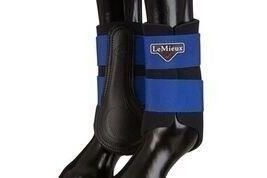 LeMieux Unisex's ProSport Grafter Brushing Boots Pair Benetton Blue, X-Large