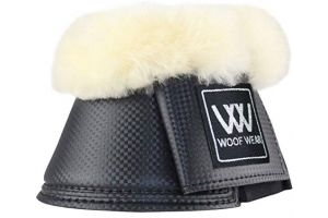 Woof Wear Pro Sheepskin Overreach Boot - Colour Black - Size Small