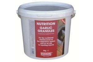 Equimins Garlic Granules x Size: 3 Kg Tub