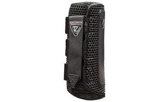 equilibrium Tri-Zone Impact Sports Boot -Black-Large-Hind