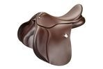 Bates All Purpose Saddle With Rear Velcro and Cair - Classic Brown - 44cm