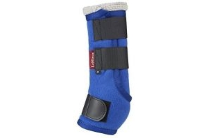 LeMieux Unisex's Four Seasons Leg Wraps, Benetton Blue, Medium