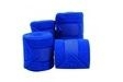 Roma Thick Polo Bandages - Set of 4 - Bright Blue