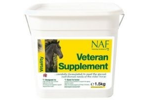 Natural Animal Feeds NAF Veteran Supplement: 3kg