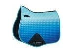 WeatherBeeta Prime Ombre All Purpose Saddle Pad - Ocean Breeze - Pony
