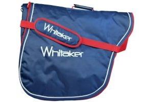 Whitaker Burley Saddle Bag Navy Red White