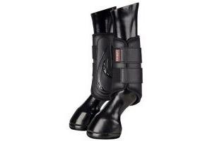 Lemieux Proshell Brushing Boots - Black - Med