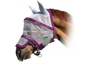 Horseware Rambo Plus Fly Mask Vamoose Silver/Purple