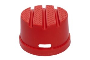 Classic Showjumps Standard 1 Step Mounting Block Red