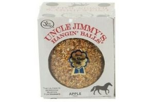 Uncle Jimmy's Hangin' Ball in Apple 1.59kg for Box Rest Stable Horse Equine Pony
