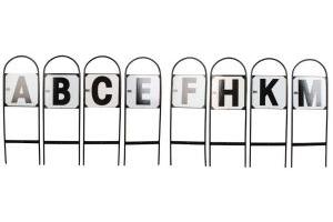 Stubbs Dressage Letters Set of 8 CMBFAKEH