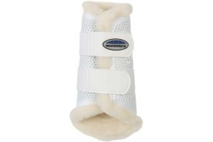 WeatherBeeta Pure Wool Lined Exercise Boots White