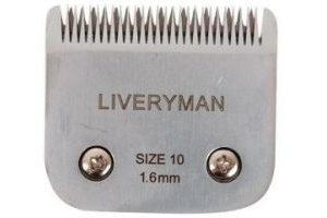 A5 Harmony Size No 10 Narrow Liveryman Spare Clipper Blade For Horse / Animal Clipping, Coat length of 1.6mm