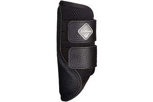 LeMieux Mesh Brushing Boots - Black, Medium