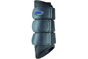 Weatherbeeta Pony/Horse Exercise Boots: Black: Cob