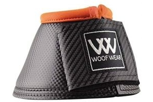 WOOF WEAR PRO OVERREACH BOOT COLOUR FUSION HORSE PONY EQUINE (X-LARGE, ORANGE)