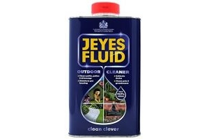 (2 Pack) - 1 Litre - Jeyes Fluid Multi-Purpose Outdoor Cleaner and Disinfectant. Includes Tigerbox Antibacterial Pen.