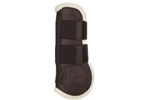 Lemieux Unisex's Capella Comfort Tendon Boots, Brown, Full
