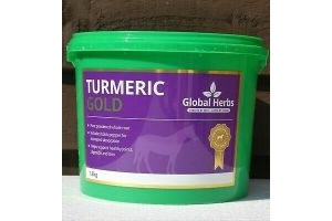 Global Herbs Turmeric Gold Pure Powdered Root with Black Pepper 1.8kg
