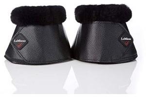Lemieux Unisex's Lambskin Wrap Round Pair Over Reach Boots, Black