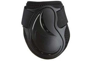 LeMieux Unisex's Derby ProJump Fetlock Boots Pair Jumping, Black, Medium