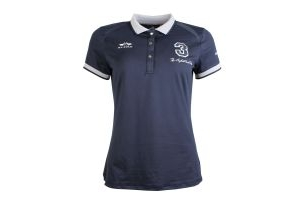 HV Polo Ladies Favouritas Tech Polo Shirt Navy
