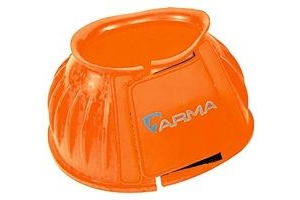 Shires ARMA Touch Close Overreach Boots-Orange Pony