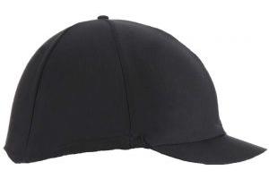 Shires Plain Hat Cover Black