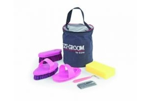 Shires Equestrian - Shires Grooming Kit - Pink - Size: Onesize