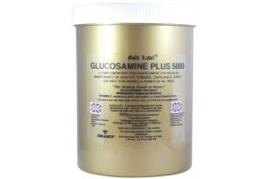 Gold Label Glucosamine Plus 5000 Horse Supplement 900g