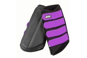 ROMA NEOPRENE BRUSHING BOOT BLACK/PURPLE FULL