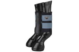 LeMieux Unisex's ProSport Grafter Brushing Boots Pair Horse Shoes & Boots, Ice Blue, Medium