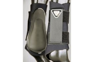 Equilibrium Tri-Zone® Brushing Boots Black Large