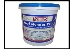 Equimins Unisex's EQS0170 Hoof Mender 75 Pellets, Clear, 3 kg