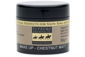Supreme Products Professional Matt Make-Up 50g: Chestnut