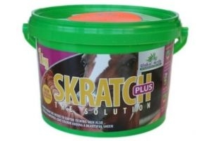 Global Herbs Skratch Plus Horse Mane & Tail Supplement x Size: 1 Kg