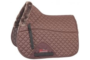 Shires Performance Supafleece Saddlecloth Full Brown