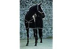 Horseware Rambo Diamante Horse Cooler Rug - Black/Black: 6ft9