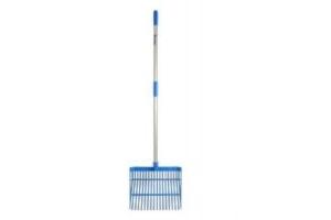 Red Gorilla - ABS Stable Bedding Fork Medium Blue