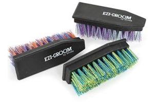 Shires Ezi Groom Hoof Brush One Size Purple Green