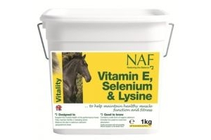 NAF - Vitamin E, Selenium & Lysine Horse Feed Supplement x 1 Kg