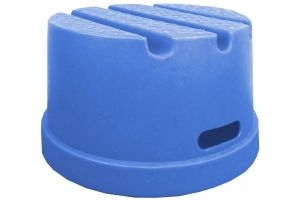 Classic Showjumps Standard 1 Step Mounting Block Blue