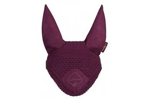 LeMieux Unisex's Signature Fly Hood, Plum, Medium