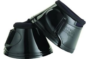 equilibrium Unisex's Stretch and Flex Bell Boots-Black, Small/Medium